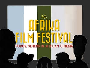 Konferenzdolmetscher im Kinosaal - Afrika Filmfestival