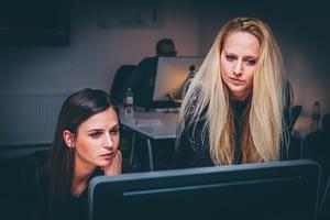 Arbeit im Team mit Katharina Gausling