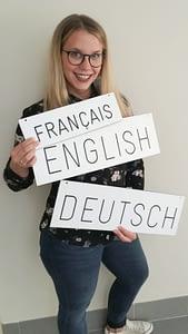 Dolmetscherin für Englisch, Deutsch und Französisch